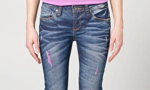 destroyed denim bei zalando destroyed denim jeans online. Black Bedroom Furniture Sets. Home Design Ideas