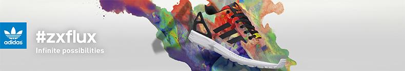 adidas zx flux rouge zalando
